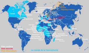 Il francese nel monde