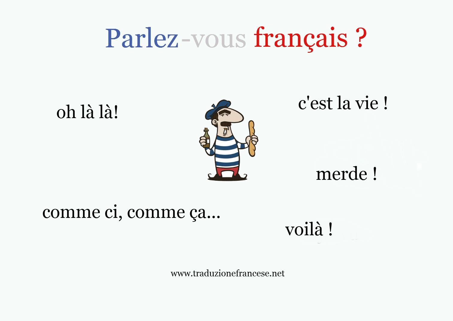 frasi in francese famose con traduzione